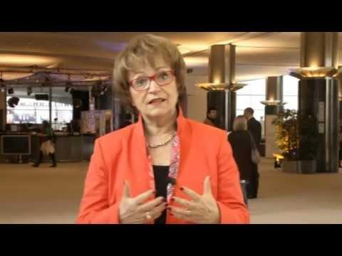 Doris Pack, President of the European Parliament's Culture and Education Commission